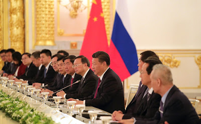 Russian-Chinese talks in expanded format.