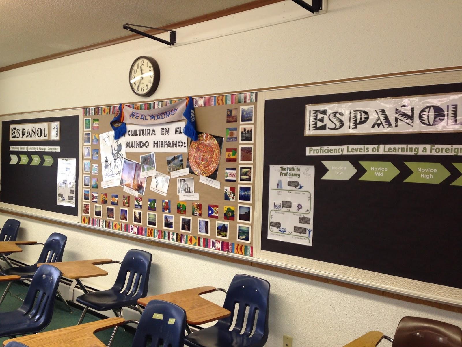 Seora Hahn's Spanish Class: Spanish Classroom Decor 2.0