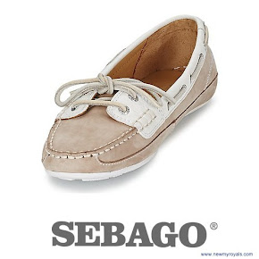 Kate Middleton wore SEBAGO Bala Shoes