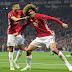 MANCHESTER UNITED NA AJAX ZATINGA FAINALI KWA MBINDE ...Eric Bailly alambwa red card