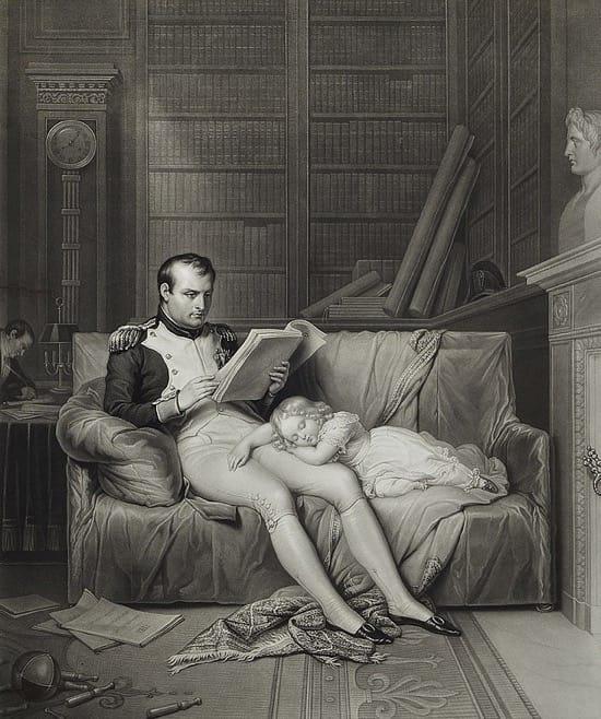 La firma de Napoleón y cómo conocía los movimientos enemigos por la prensa