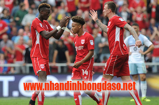 Bristol City vs Preston North End www.nhandinhbongdaso.net