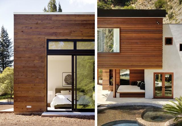 Revestimientos de madera en exterior espacios en madera - Loseta para exteriores ...