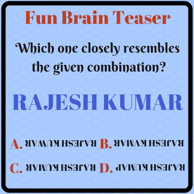 Non verbal reasoning fun brain teaser