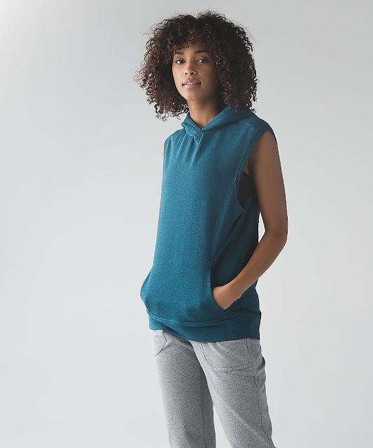lululemon blissed-out-sleeveless-hoodie