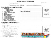 Download Contoh Buku Induk Siswa ( TK, SD, MI, SMP, SMA)
