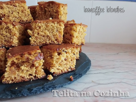 banoffee blondies