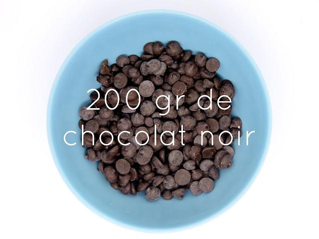 Recette de mousse au chocolat facile sans lactose sans gluten