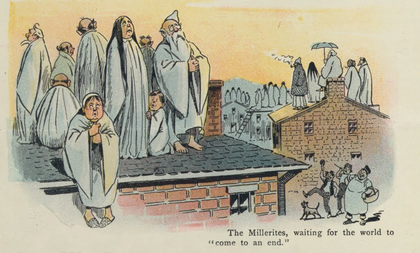 the Millerites were followers of the millenarian teachings of a self Millerites