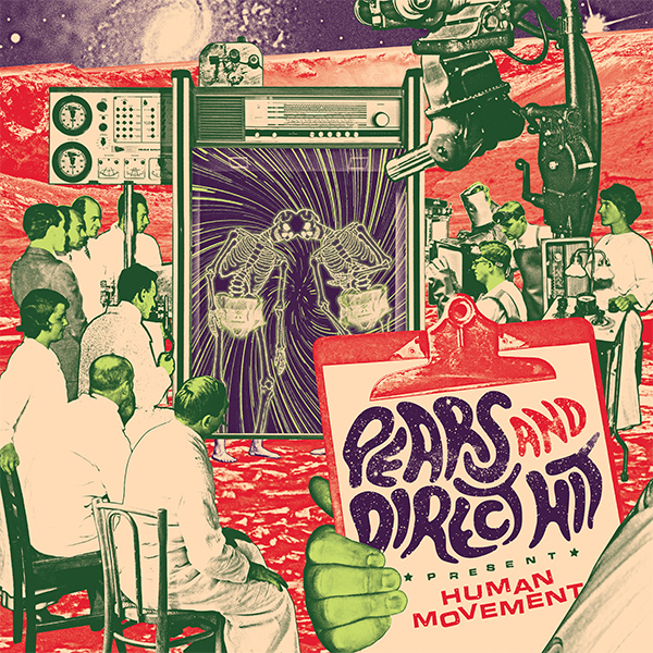 "PEARS and Direct Hit announce split ""Human Movement"""