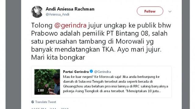 Prabowo Diisukan Pemilik PT Bintang 08 yang Pekerjakan Banyak TKA Asing, Apa Tanggapan Fadli Zon?