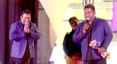 An Emotional Robo Shankar Speaks at Star Icon Awards