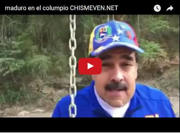 Maduro resuelve la crisis en Venezuela columpiándose