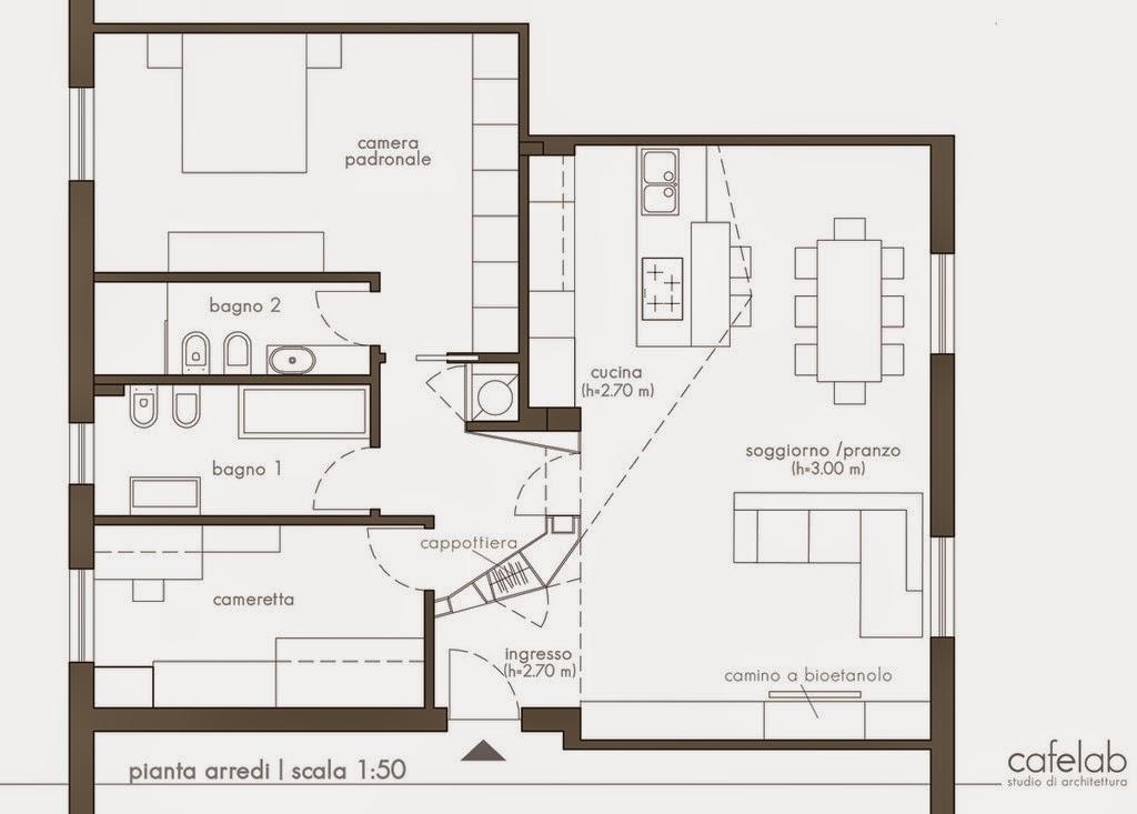 Progettare la ristrutturazione di un appartamento for Disegnare progetto casa