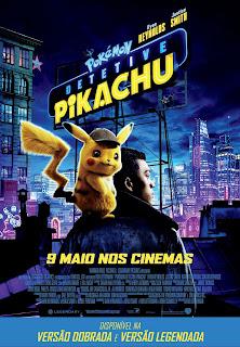 Pokémon Detetive Pikachu - Poster & Traler