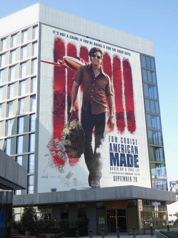Giant American Made film billboard