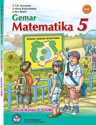 Buku Matematika SD/MI Kelas 5 Karya Y.D. Sumato, heny kusumawati, dan Nur aksin