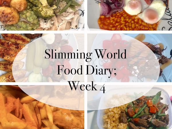 Slimming World; Week 4 Food Diary