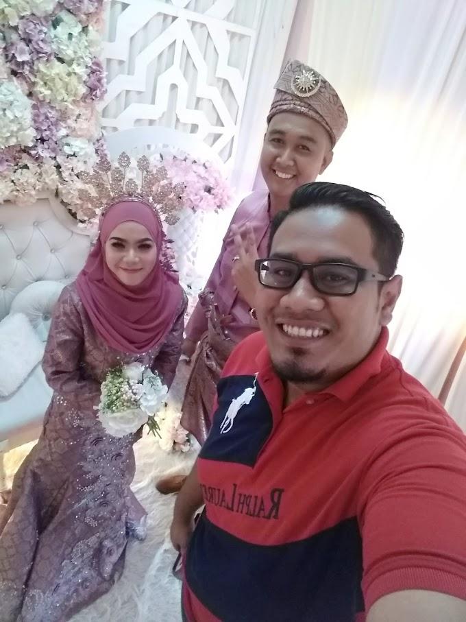 Tahniah Nurul & Abdul Rahman