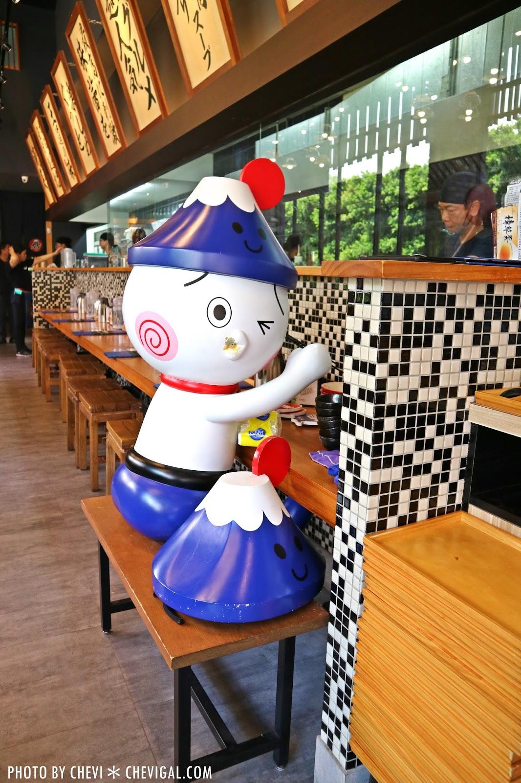 IMG 9830 - 熱血採訪│富士山55沾麵,富士山55周年感謝祭。澎派菜單全新登場。還有免費 Cold Stone冰淇淋請你吃