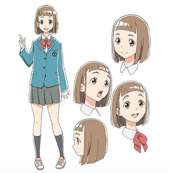 Inori Minase como Mari Tamaki.