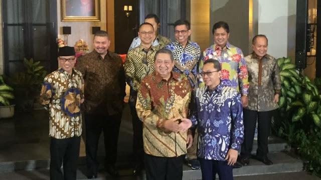 SBY: Kalau Pak Prabowo Kita Dukung Capres, Beliau yang Pilih Cawapres
