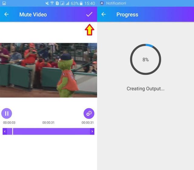 Cara Mudah Menghilangkan Suara Video di Android Tutorial Gampang Menghilangkan Suara Video di Android
