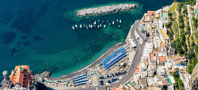 Praia Duoglio em Amalfi
