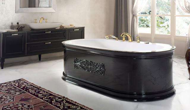 Banheira em estilo antigo com jacuzzi decora o e ideias for Como decorar un jacuzzi