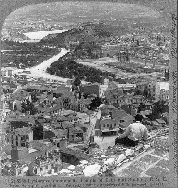 25 Vintage Photographs Of Athens In The Late 19th And
