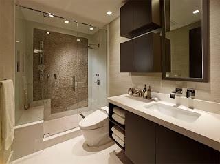 Foto de baño moderno