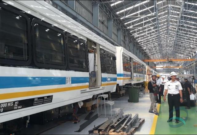 PT Industri Kereta Api (INKA) Targetkan Produksi 4 Kerera Api per Hari