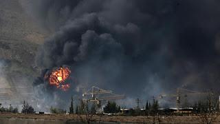 23 militants killed in Syria blast