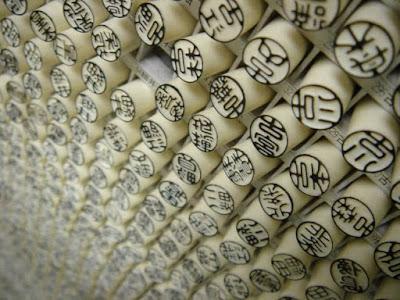 Hanko Stempel pengganti Tanda Tangan Orang Jepang