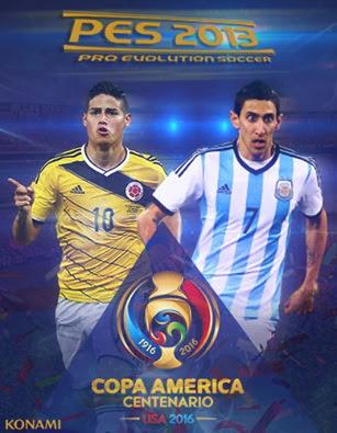 Update COPA AMERICA 2016 cho PES 2013