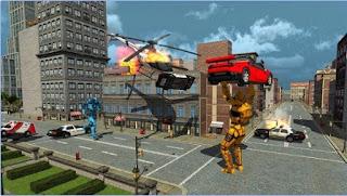 Nyata Pertempuran Perang Robot Apk