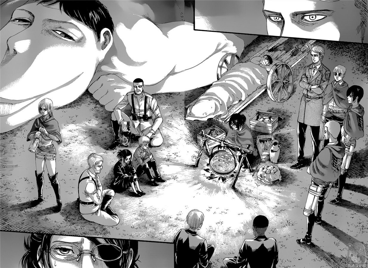 進擊的巨人: 127话 终末之夜 - 第10页