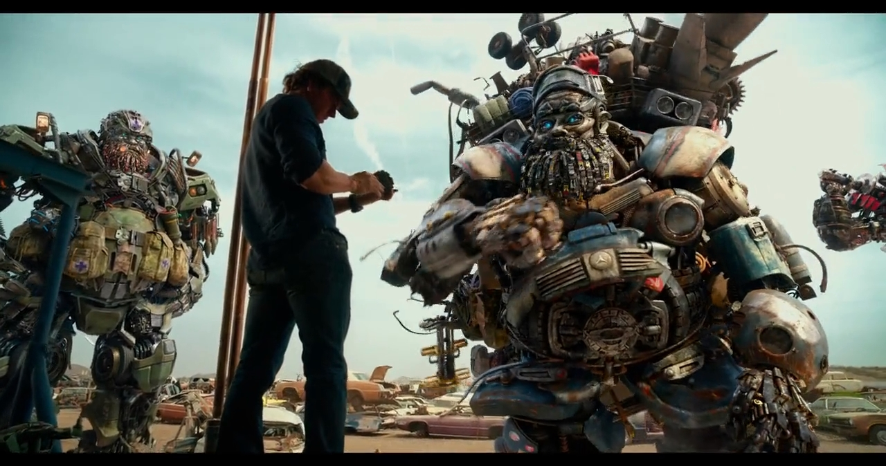 Transformers: El último Caballero (2017) BRRip 720p Latino - Ingles captura 3