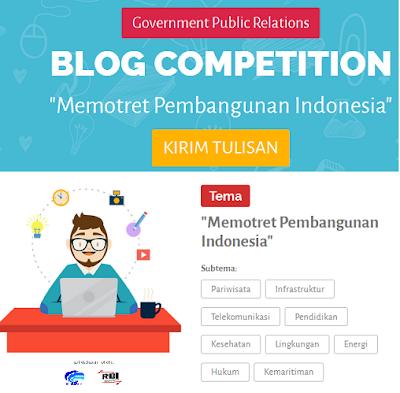Pengumuman : Blog competition berhadian 10 juta