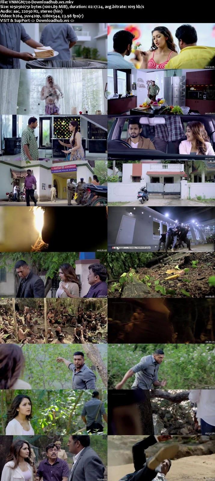 Vanamagan 2017 Hindi Dubbed 720p