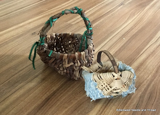 Baskets and Tea Towels