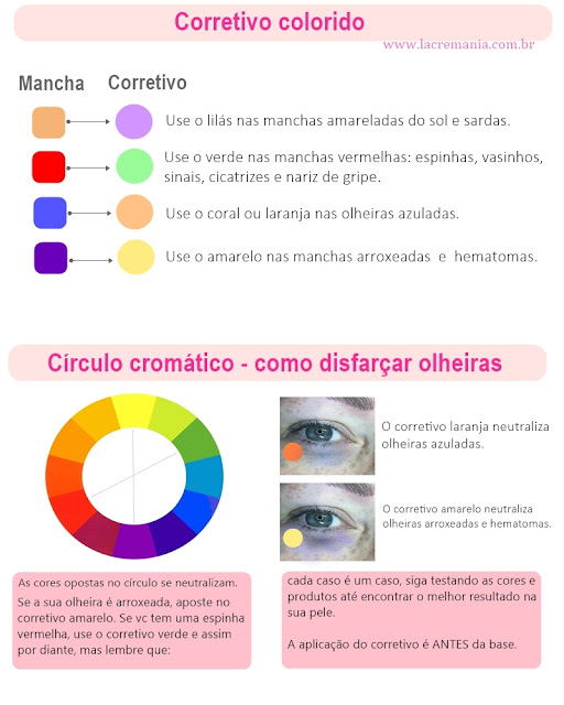 corretivo colorido by LacreMania