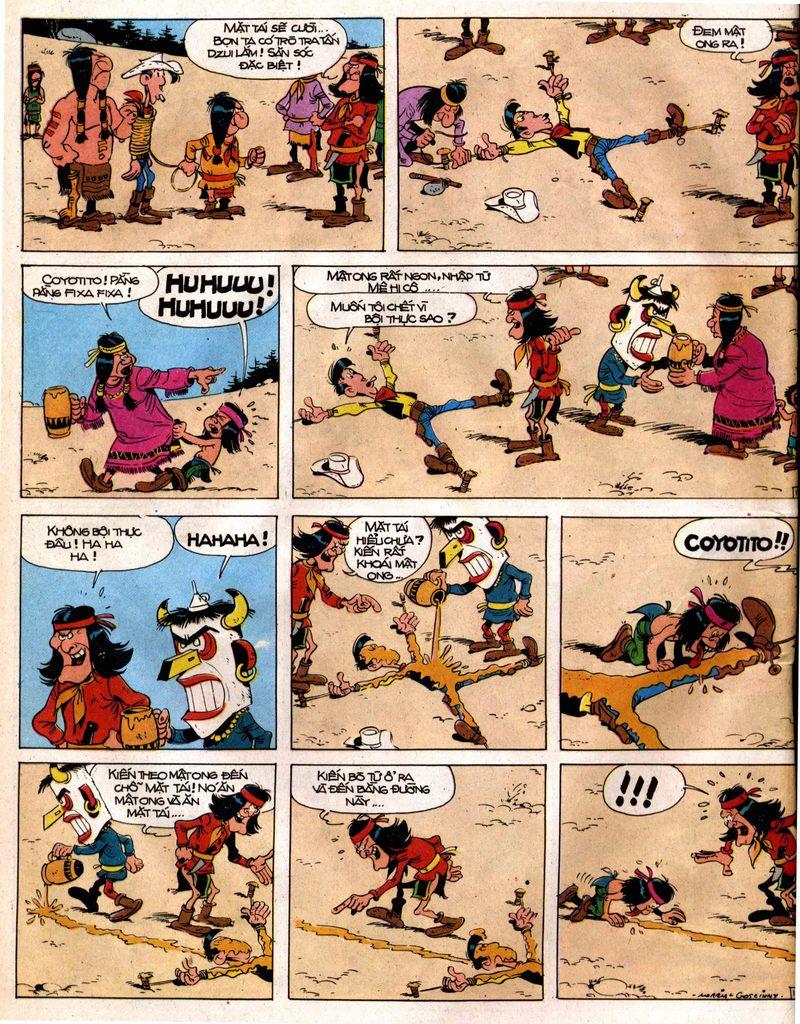 Lucky Luke tap 12 - khe vuc apache trang 12