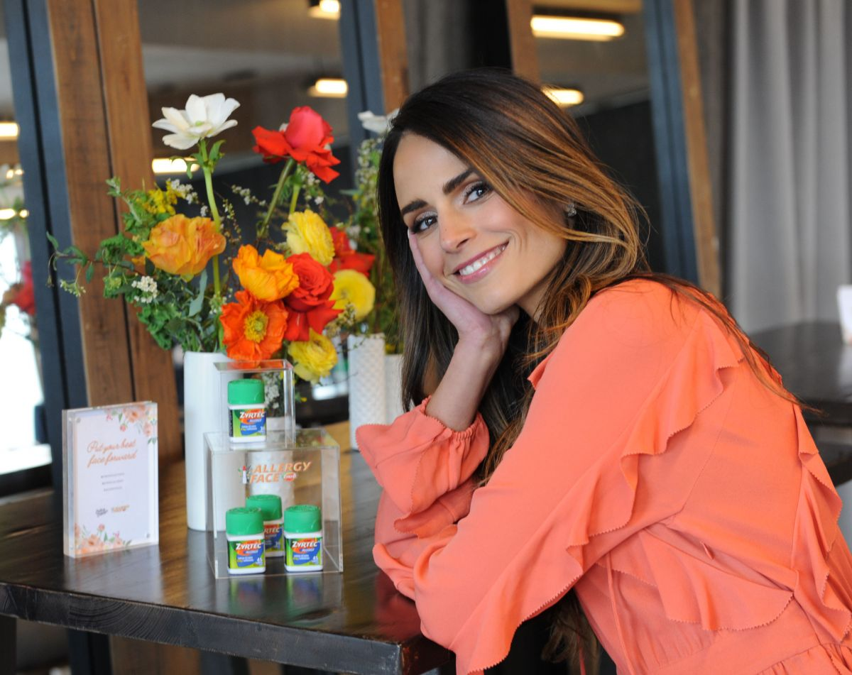 jordana brewster at zyrtec and create cultivate panel to talk