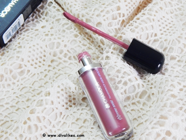 Chambor Extreme Wear Transferproof Liquid Lipstick 402 Review