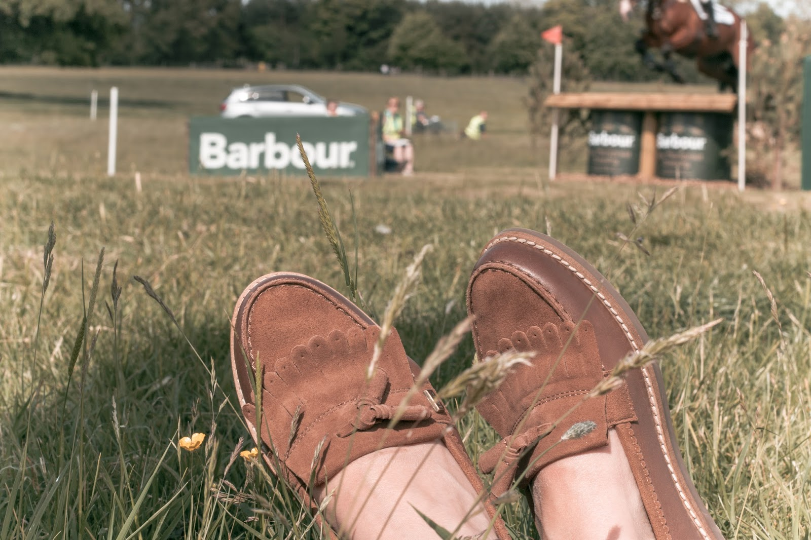 Fashion: Barbour Horse Trials Photo Diary
