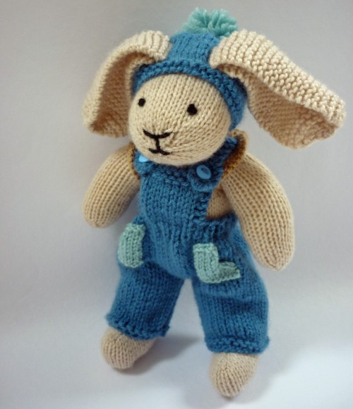 Rabbit Trousers - Free Knitting Pattern