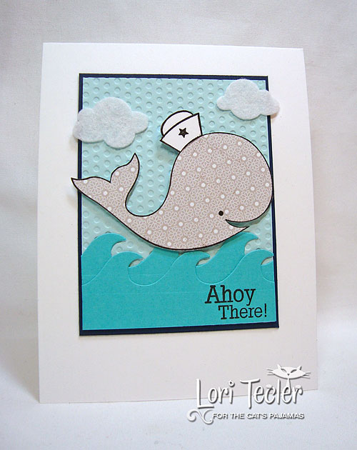 Ahoy There-designed by Lori Tecler-Inking Aloud-stamps and dies from The Cat's Pajamas