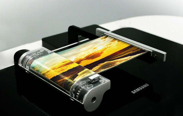 2017 Samsung akan meluncurkan ponsel layar foldable