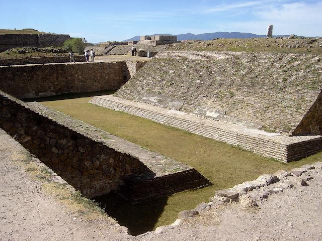 campo de juego de pelota de los maya